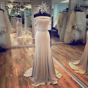 Dresses & Skirts - Long off the shoulder dress.